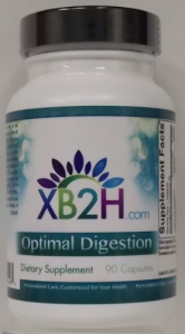 Dr. Amy Davis at Crossing Back to Health supports digestion with Optimal Digestion.